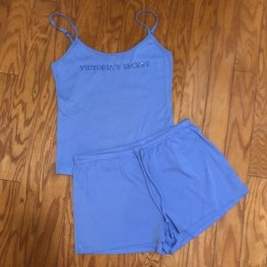 NWOT Victoria's Secret Tank and Shorts Sleep Set